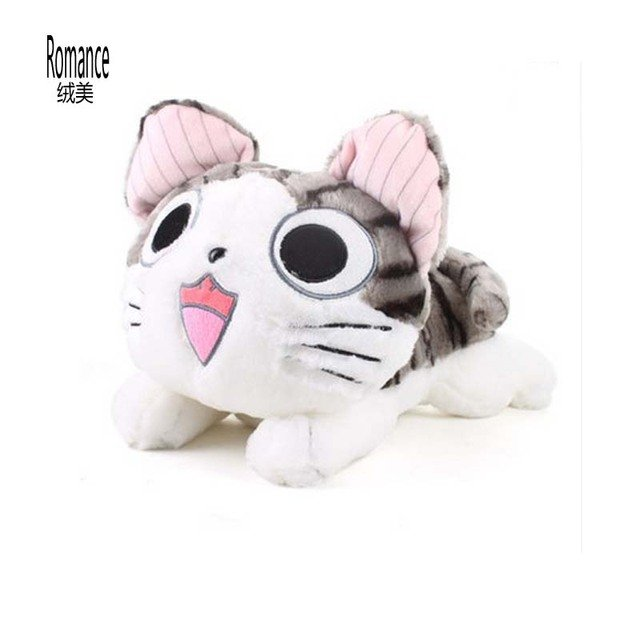 40cm Wholesale And Retails  Plush Toys Cat Soft Toys Stuffed Plush Toys Factory Supply Cat Doll Birthday Gift