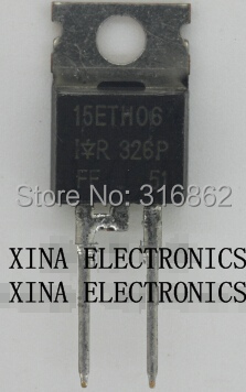 15ETH06PBF 15ETH06 TO-220 ROHS ORIGINAL 10PCS/lot  Free Shipping Electronics composition kit