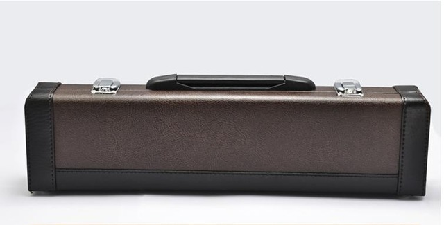 Flute box of high-grade solid wood and high-grade soft package, flute bags,flute cases