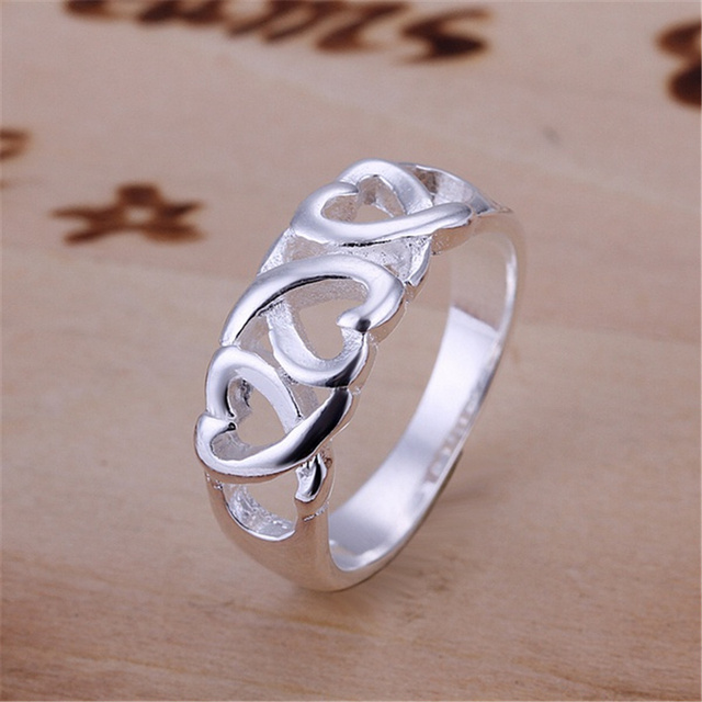 R90 Christmas gift free shipping wholesale Fashion chain cross noble silver color ring Top quality fashion classic Jewelry