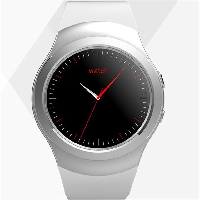 1.3 Inch MTK 2502 Bluetooth Smartwatch AS2 ROTATING BEZEL Clock for ios Android smartphones heartrate monitor remote camera