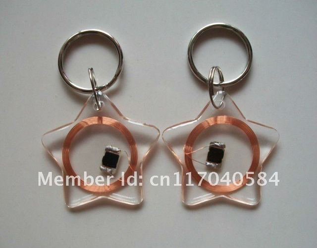 Free shipping Access Control Card,13.56MHz RFID key tag,RFID Key Fob,Key Fobs for Door Entry system,100pcs/lot