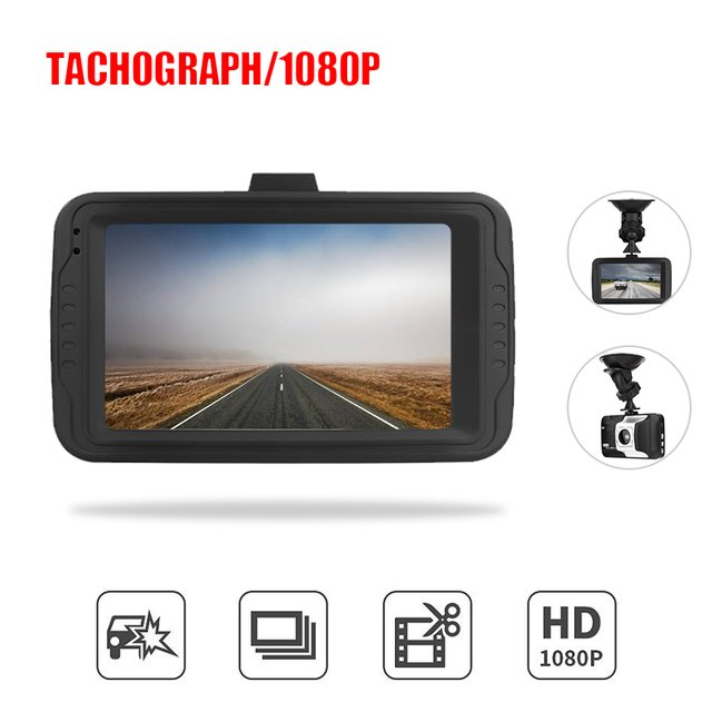 Car Recorder Loop Recording Car Windshield Rearview Camera CMOS Vehicle Cars Automobile 5MP 3inch HDMI Port Car DVR