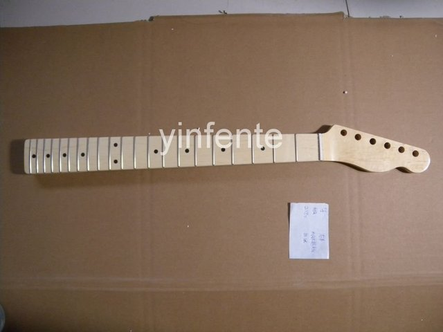 New High Quality Unfinished electric guitar neck Solid wood Body &  fingerboard   model 1pcs #1