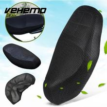 Vehemo Motorcycle Seat Cover Black Elctric Bike Net Breathable Protector Cushion Sun