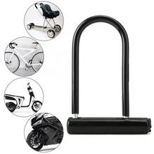 safety lock Heavy Duty Zinc Alloy Bike Motorcycle Bicycle U Lock Security Anti Theft smart lock