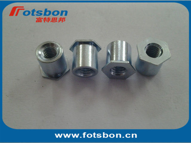 SOS-M3-4 , Thru-hole Threaded Standoffs,stainless steel,nature,PEM standard, made in china,in stock,