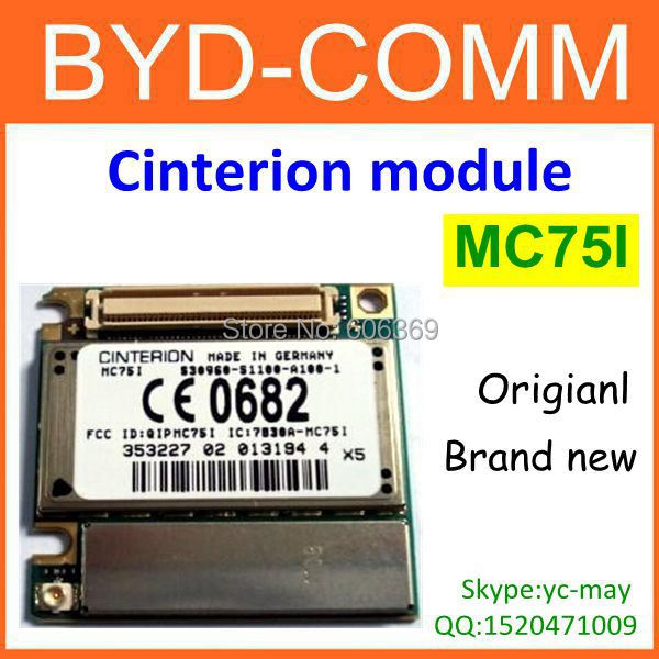 Factory wholesale MC75i gprs EDGE MODULE cinterion