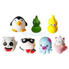 PU Resilience Slow Rising Toy Decompression Squeeze Squishy Simulation Soft Toy Stress Reliever Phone Charm Pendant Gift