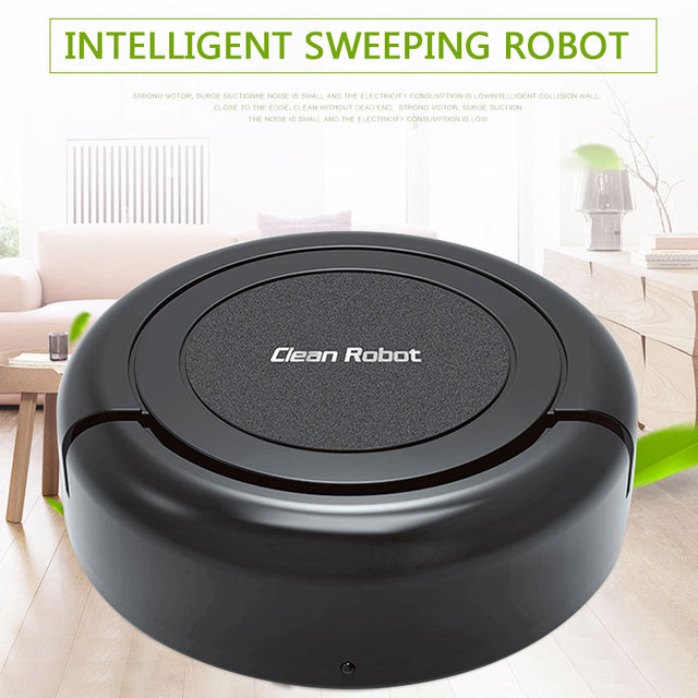 2019 Drop Shpping 1200MAH Smart Clean Robot Automatic Sweeper Practical Lightweight Sweeper Auto Vacuum Cleaner for Edge Clean