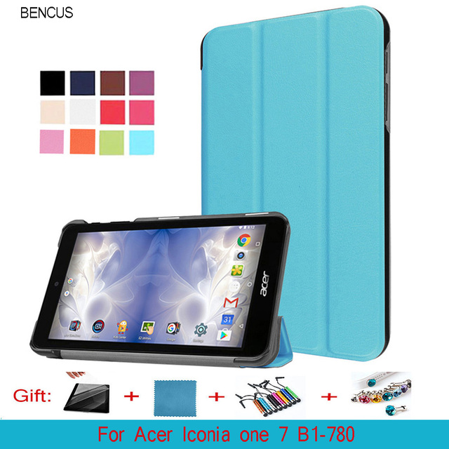 BENCUS case for acer Iconia one 7 B1-780 7' tablet case pu leather protective founda cover case for acer iconia TAB one 7 b1-780