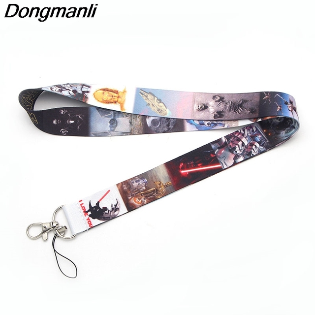 M1512 DMLSKY necklace Cartoon fashion Lanyard Neck Strap for keys ID Card Mobile Phone Straps