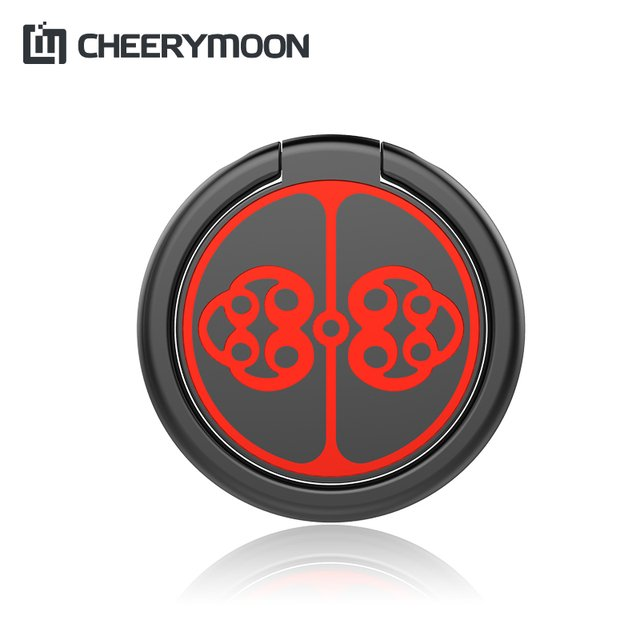 CHEERYMOON Plate Buckle Ring Holder Metal Finger Grip Universal Mobile Phone For iPhone X Samsung Stand Bracket Full Tracking