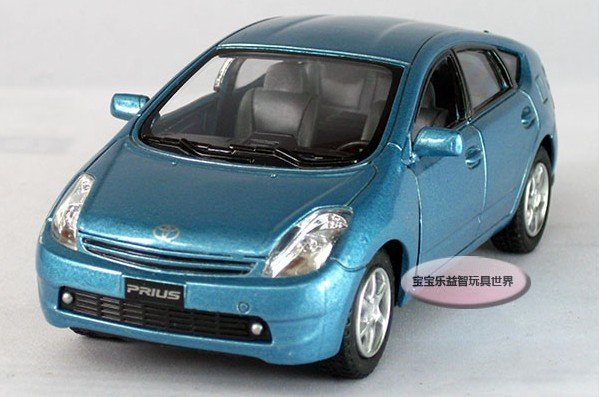 2014 Free shipping--Kinsmart 1:34 Toyota Prius/kids alloy model car /toys for children, toy gift Christmas gift car electronics