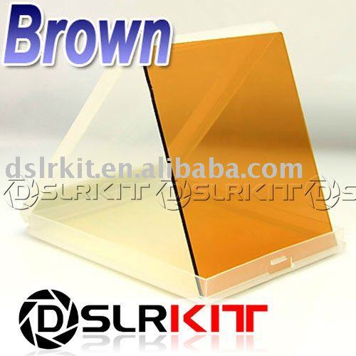 Color Brown tobacco Filter for Cokin P series