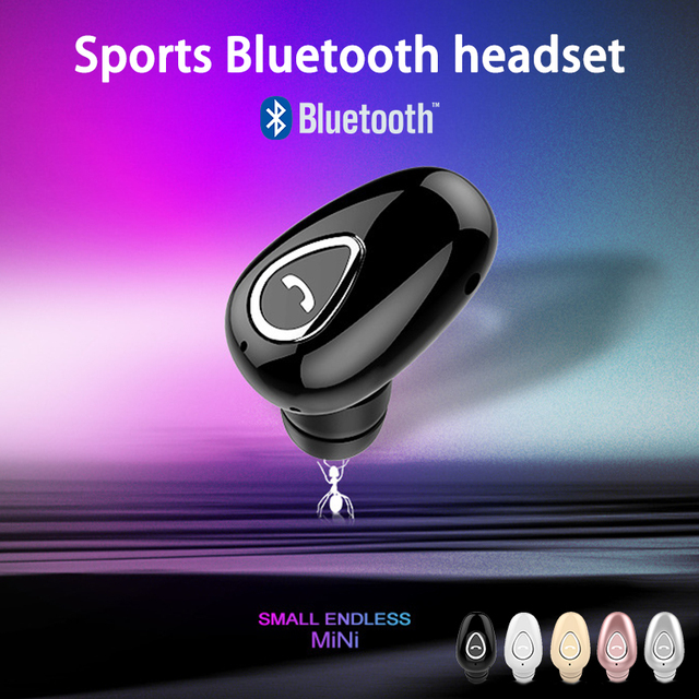 Mini Wireless Earbuds Sport Stereo Hands-Free Headphones Smartphone Bluetooth V4.1 Headset Earphones for iPhone