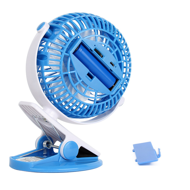 Mini Portable Lithium Battery USB Fan Rechargeable Small  Desktop Student Dedicated Fan Cooling Infinitely Variable Speed