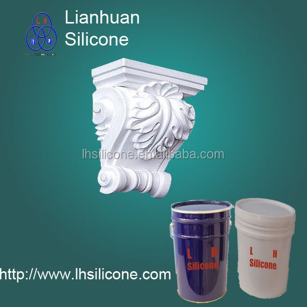 rtv for Molding gypsum molds,Plaster cornice molds,concrete statues moulds making