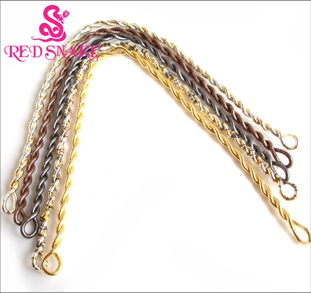 RED SNAKE Wholesale 400pcs Costomize 1800*5mm High Quality Stainless Steel Punk Trendy Bendable Flexible Bendy Snake Necklace