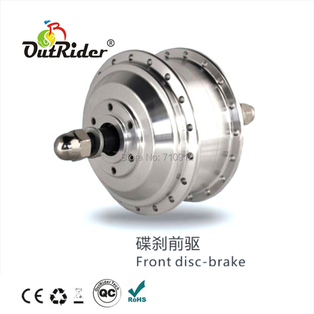 OR01B5 36V 175rpm Rear No Hall Motor with 3-pin Water-proof Cable Brushless High-speed 128 Disc Brake 7-speed Mini CE Approval