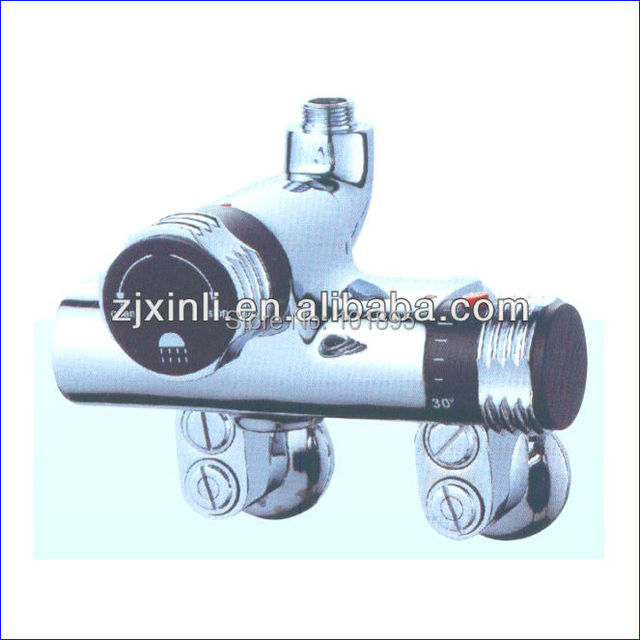 Retail- Luxury Brass Thermostatic Bath Shower Mixer, Wall Mounted, Free Shipping X9027S