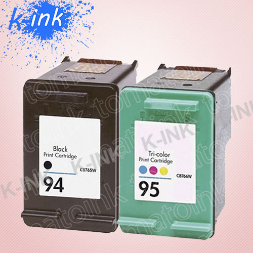 Remanufactured ink cartridge for HP 94 + 95 (XL type) , 100% quality guarantee