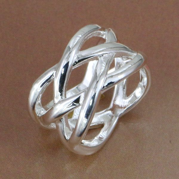 Lose Money Promotions! Wholesale  silver plated  ring,  fashion jewelry, Fish Web Ring R010
