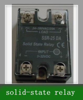 Single phase DC control AC solid-state relay SSR - 25 DA