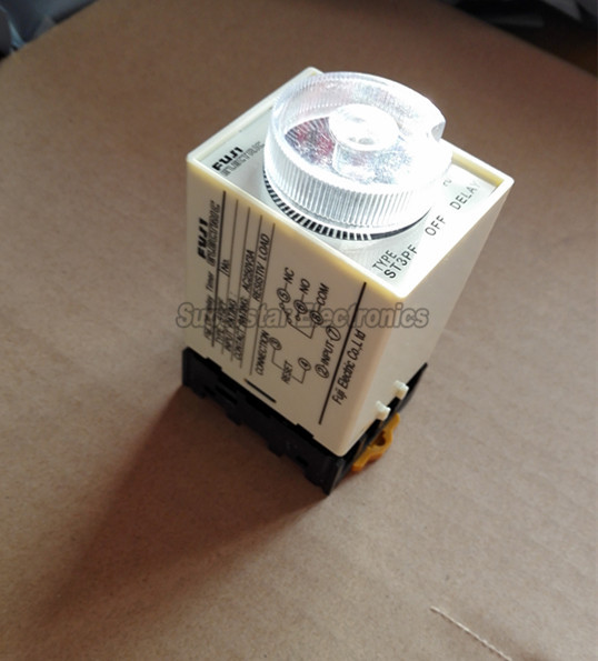 220V AC Power Off Delay Timer Time Relay 30 seconds ST3PF & Base