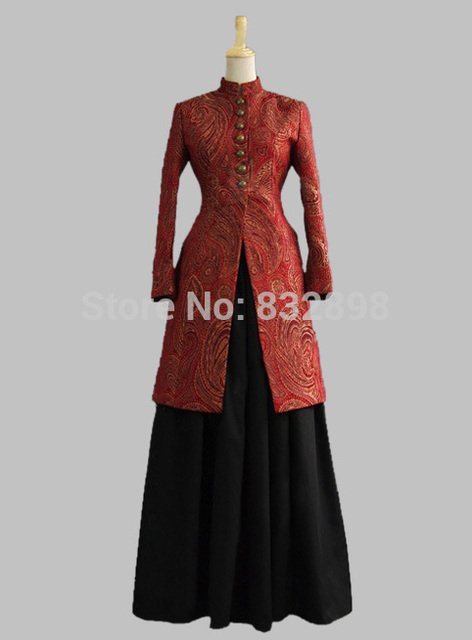 Victorian Ladies Frock Dress Old West Jacket Reenactment Ball Gown
