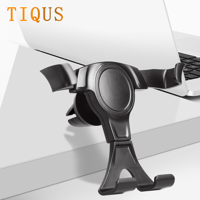 TIQUS Gravity Car Holder For Phone in Car Air Vent Clip Mount No Magnetic Mobile Phone Holder Cell Stand Support For iPhone X XS