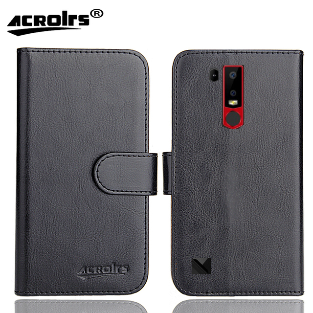 Ulefone Armor 6E Case 6 Colors Dedicated Leather Exclusive Special Crazy Horse Phone Cover Cases Credit Wallet+Tracking