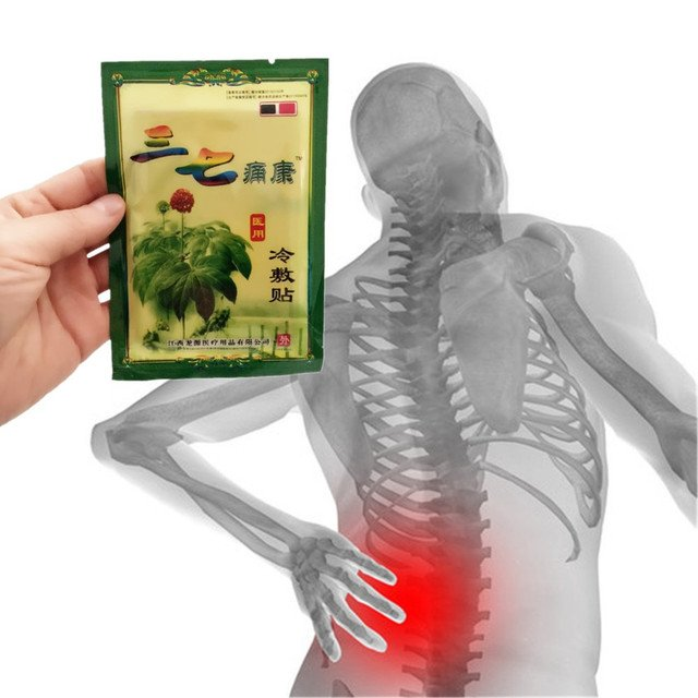 1Pcs Chinese herbal patches Notoginseng Essential Oil balm Joint pain patch Neck back body pain relaxation pain killer patches