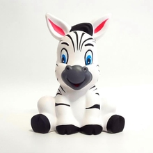 Kids Toys Kawaii Squishy Animal Zebra Jumbo Squishy Slow Rising Cute Horse Antistress Funny Bbay Toys Squishies Christmas Gift
