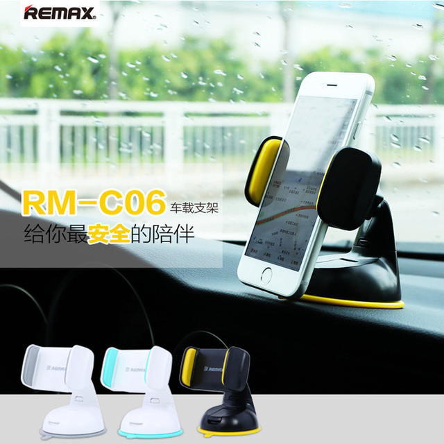 Remax Car Windshield Mount Stand Holder Phone 360 Degree Rotating Table Suckers Desktop Mounts Bracket For GPS All Smart Phones