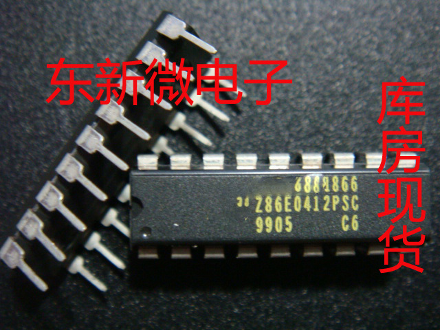 Free shipping 5pcs/lot Z86E0412PSC DIP DIP-18 p new original