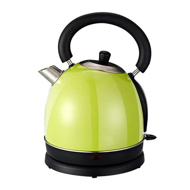 Long Spout Mouth Electric Kettle Stainless Steel Hot Water Heating Boiler Pot Auto Power Off Boiling Heater Teapot 1.8L EU Plug