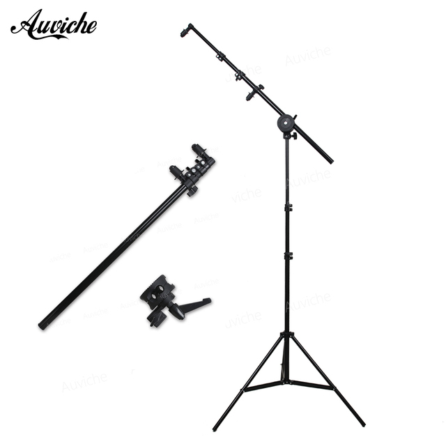 Photo studio Accessories Reflector Arm bracket Reflector stand with 2m Light stand for Photography reflector