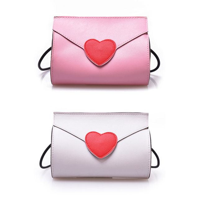 Love Heart Shoulder Bag Mini Practical Casual Outdoor fashion trend pattern buckle square shoulder bag handbag Accessory Gifts