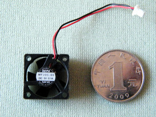 Raspberry 5v 0.1a micro cooling fan 20x20x7mm