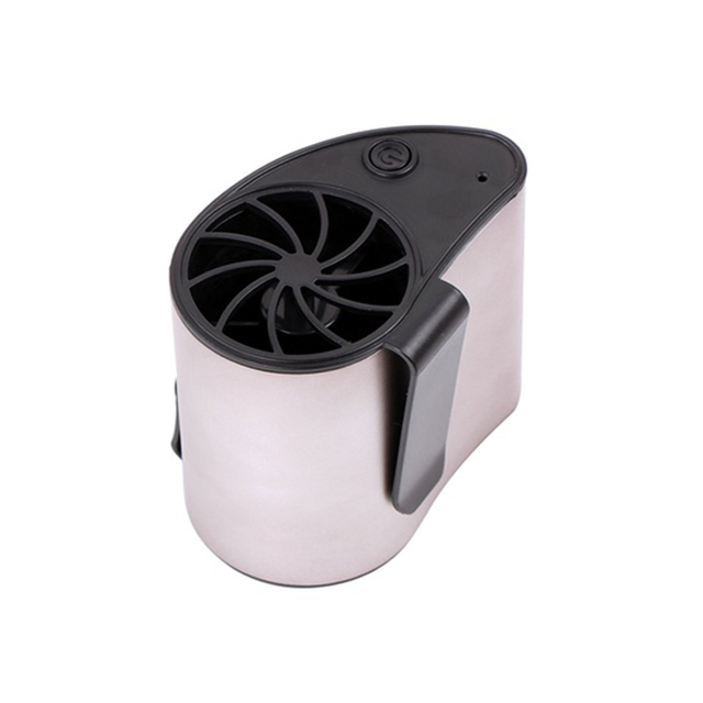 USB Waist Fan Mobile Air Conditioner USB Cooling Rechargeable Fan Wearable Portable Summer Camping Travel Mini Air Conditioner