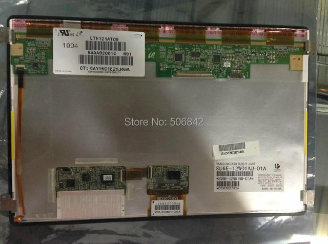 """12.1""""laptop LED screen  for  HP TM2 special LCD touch screen     LTN121AT09    ,Brand new A+ 40pin (1280*800 )"""
