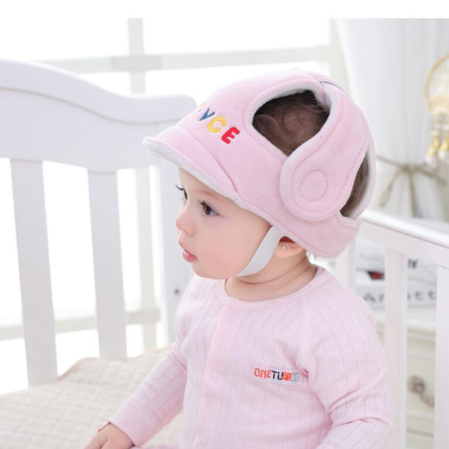 Baby Infant Head Protection Soft Hat Helmet Anti-collision Security Safety Helmet Sport baby play protective cotton caps G0118