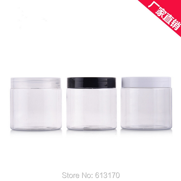 Cream Jar Cosmetic Packaging Container Mask Case 10pcs 200g Ointment Black, White, Clear 200ml Empty Diy Conditioner Tax Oil