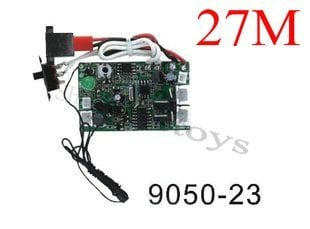 Shuang Ma spare parts RC helicopter Double Horse spare parts 9050-23 Receiver PCB board (27.145MHZ)