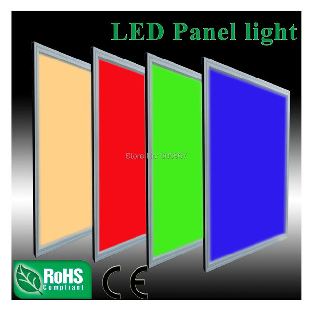 600x600mm RGB LED panel light 120pcs 5050SMD with 24KEY IR dimmer and power supply