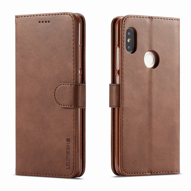 Cases For Xiaomi Redmi Note 5 Pro Case Cover Luxury Magnetic Flip Vintage Wallet Leather Phone Bags For Xiaomi Redmi Note5 Coque