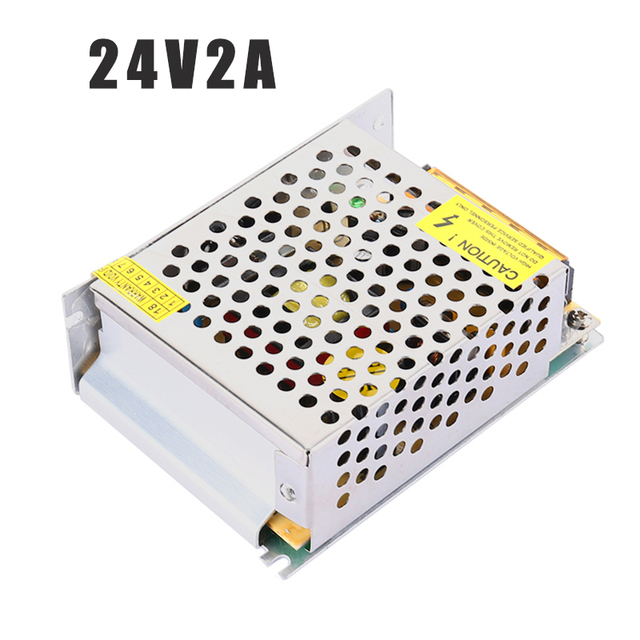 JCPOWERLED power supply DC24V 2A 50W Adpter outdoor application Output 2A 50W LED for led lighting
