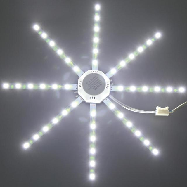 Useful LED Ceiling Panel Light Light Module Warm White 500LM 5730SMD 220V Lamp Board Kitchen Bedroom Home Decor Walkway Fixture