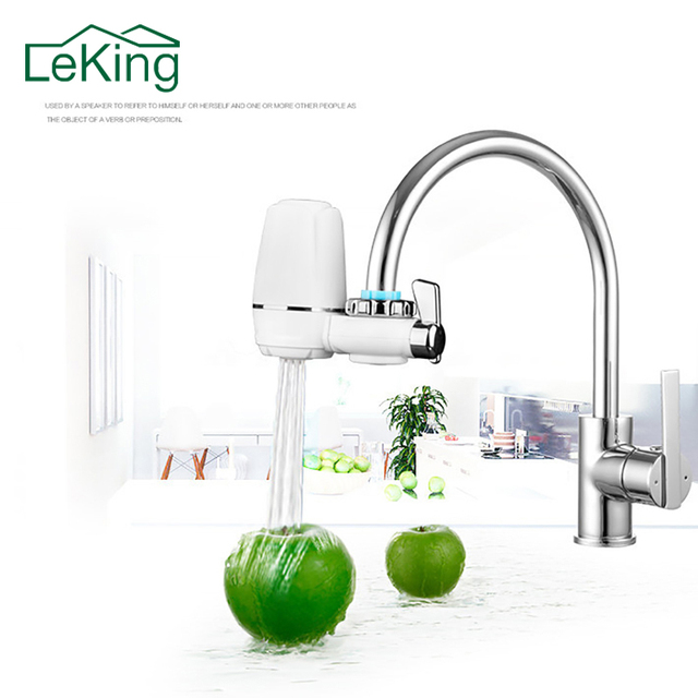 LeKing Water Filter for Household Kitchen Health Activated Carbon Tap Faucet Water Filter Purifier For Drinking Home Accessories